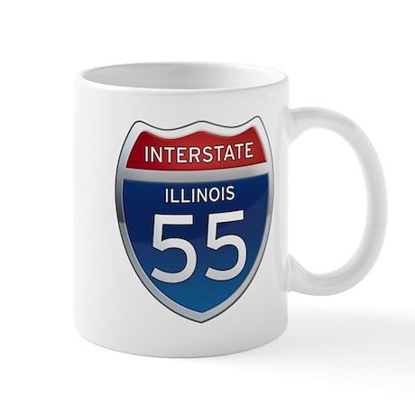 Interstate 55 - Illinois Mug