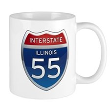 Interstate 55 - Illinois Mug