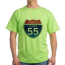 Interstate 55 - Illinois T-Shirt