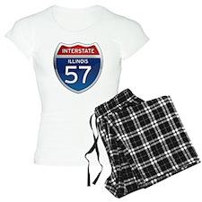 Interstate 57 - Illinois Pajamas