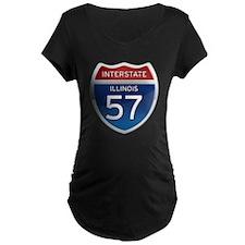 Interstate 57 - Illinois T-Shirt