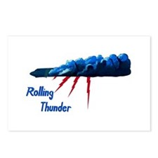 Rolling Thunder Postcards (Package of 8)