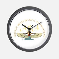Cute Bellydance Wall Clock