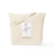 Cute Hot bartender Tote Bag