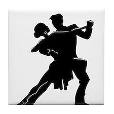 Unique Latin dance Tile Coaster