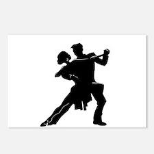 Cute Latin dancing Postcards (Package of 8)