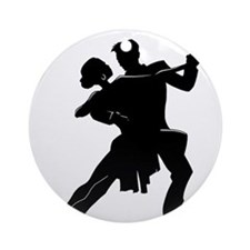 Unique Latin dancing Ornament (Round)