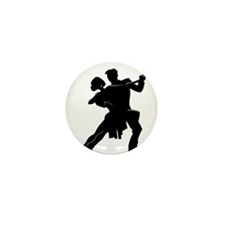 Funny Latin dancing Mini Button (10 pack)