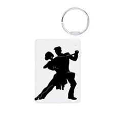 Unique Waltz Aluminum Photo Keychain