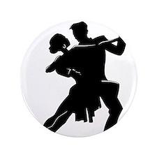 """Cute Ballroom dancing 3.5"""" Button (100 pack)"""