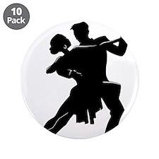 """Cute Ballroom dancing 3.5"""" Button (10 pack)"""
