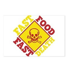 Fast Food Fast Death Postcards (Package of 8)