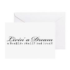 Livin' a Dream Greeting Card