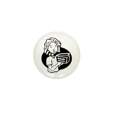 Girl Cacher Mini Button