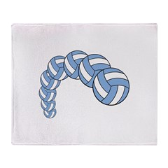 Volleyball Arch Throw Blanket