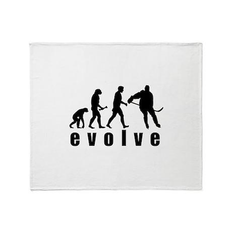 Evolve Hockey Throw Blanket