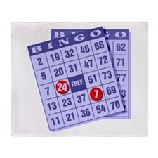 Bingo 24/7 Throw Blanket