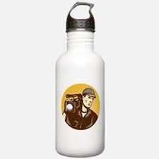 cameraman filmcrew Water Bottle