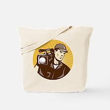 cameraman filmcrew Tote Bag