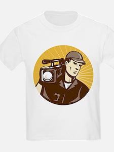 cameraman filmcrew T-Shirt