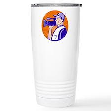cameraman filmcrew Travel Coffee Mug