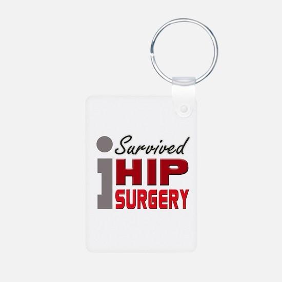 Hip Surgery Survivor Keychains