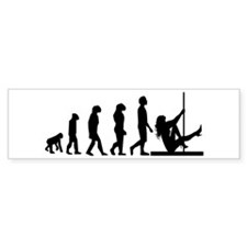 Darwin's Dancer Bumper Sticker