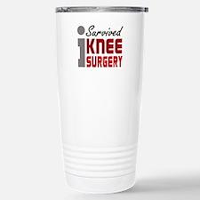 I Survived Knee Surgery Travel Mug