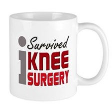 I Survived Knee Surgery Small Mug