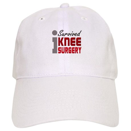 I Survived Knee Surgery Cap