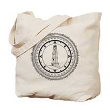 Tote Bag With Lost Jacob's Lighthouse Design