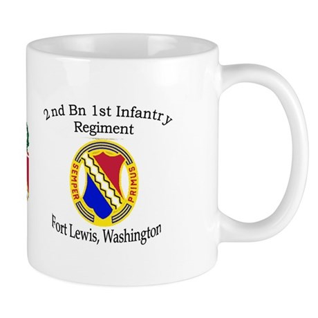 2nd Bn 1st Inf Mug