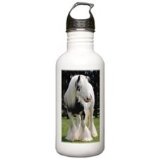 Gypsy Horse Stallion Water Bottle