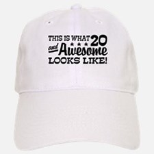 Funny 20th Birthday Baseball Baseball Cap