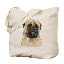 Fawn Bullmastiff Head Tote Bag