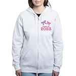 2023 Girls Graduation Women's Zip Hoodie