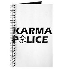 Karma Police Om Sign Journal