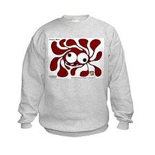 Funky Sun! In Coffee Sweatshirt