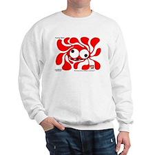 Funky Sun! In Scarlet Sweatshirt
