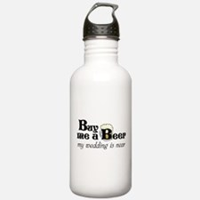 Buy Me A Beer Sports Water Bottle