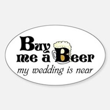 Buy Me A Beer Decal