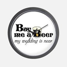 Buy Me A Beer Wall Clock