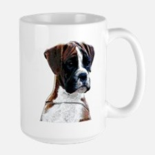 Brindle Boxer Puppy Large Mug
