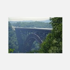 New River Gorge Bridge Rectangle Magnet
