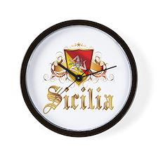 Sicilian Pride Wall Clock