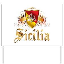 Sicilian Pride Yard Sign