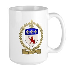 BRIDEAU Family Crest Mug