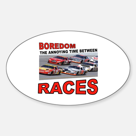 START YOUR ENGINES Sticker (Oval)