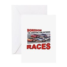 START YOUR ENGINES Greeting Card