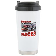 START YOUR ENGINES Travel Mug